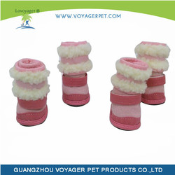 Lovoyager New design pet shoe for winter dog shoes with great price