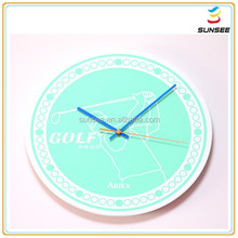 100% new material factory low price mirror acrylic outdoor garden clock for home deco