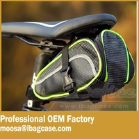 Outdoor Waterproof Bike Saddle Bag Cycling Seat Pouch for Cellphone Smartphone bicycle seat bag