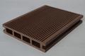 Wpc-decking boden für den Außeneinsatz wpc hohlkörperplatte Typ/außendeck boden