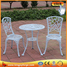 Elegant and sturdy package garden line patio furniture with bamboo leaves style