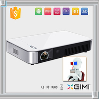 Mini android wifi 5.1 channel home theater projector 1080p full hd support 4K ceiling mount