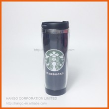 Stainless Steel Double Walled Mug Plastic Travel Coffee Mug With Photo Insert