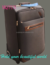 travel luggage trolley/pu luggage bags/cheap pu luggage