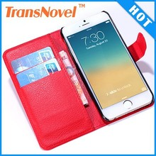 Hot Sales! High Quality Retro Stand Flip Leather Case For iPhone 6 5.5 inch