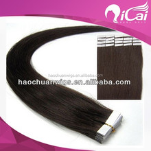 skin tape hair weft,single side tape hair extensions,natural hair extensions