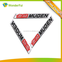 Wholesale Promotion Cheap Item Custom Machine Adhesive Use Enamel Logo Aluminum Plate Car Badge Auto Emblem