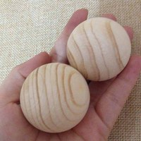 Aroma Scented Fragrant Wood Wooden Balls 4cm Natural for Home Office