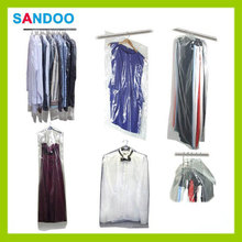 Clothes bags garment covers suit dress, portable lucidity garment packaging bag