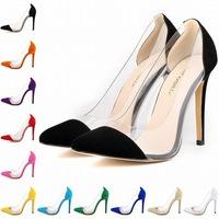 C88774A new design ladies high heel suede shoes bulk wholesale lady dress shoes OL shoes