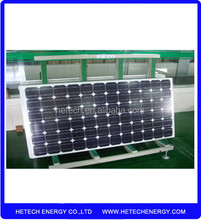 OEM available solar panel price list for 190W mono solar panel in cheap price