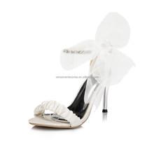 ladies fancy sandal bridal jeweled wedding shoe