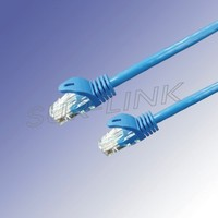 UTP Cat6 Patch Cord 2M 3M 5M with Snagless Blue Ligule Molded Boot Surlink