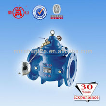 water flow control valve with floating ball