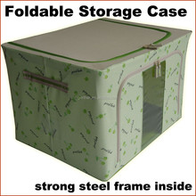 Foldable storage case