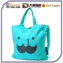 Custom Cheap Canvas Cute Ec-Friendly Wholesale Shopping Bag Lady Tote Promotional Handbag Beach Bag