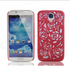 Crack rose plastic cell phone case for Samsung Galaxy S4/9500 case