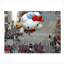 custom giant helium inflatable character cartoon balloon cheap cat inflatable character