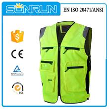 EN ISO 20471 reflective vest motorcycle