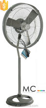 new design CE rohs 18 inch water mist electrical standing fan