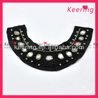 2014 China neck work designs bead work for garment accessory WNL1129