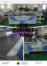 China ceramic inkjet uv printer glass printer 1.8m*1m printing width (5 piece 1024 print head 1440dpi)