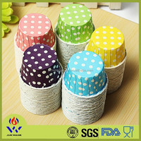 Waterproof greaseproof polka dots cupcake cupcake wrapper wholesale