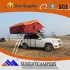 small camping trailer with 4wd roof top tents