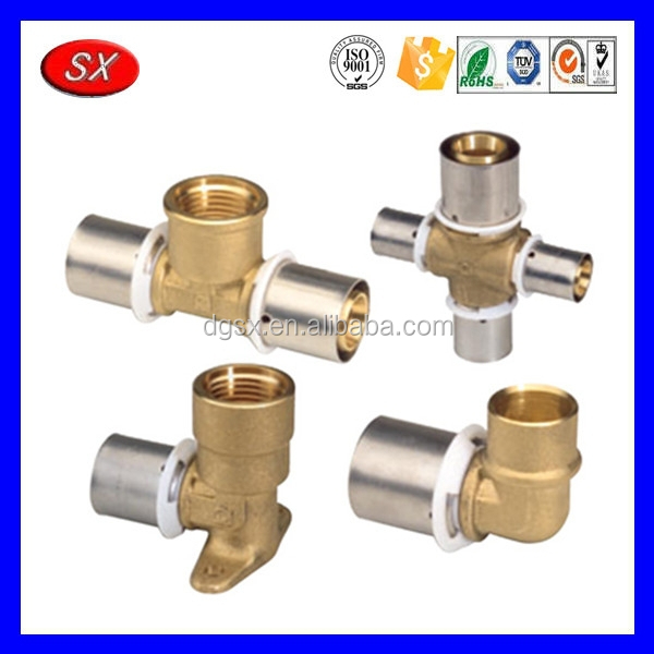 Custom brass air fittings pneumatic fitting female