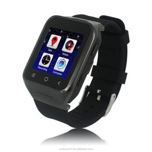 Factory price 3G Android4.4 fashionable gsm watch mobile phone, watch phone uae, cheap touch screen watch mobile phone