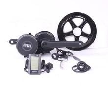 MOTORLIFE/OEM250W bafang 8fun mid motor kit for ebike