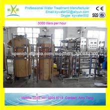 3000L/H planta de agua potable
