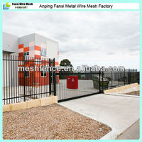 1.8m high spear top Australia standard steel security fence agency