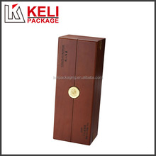 Hot new products for 2015 wooden single wine glass box