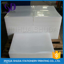 Best Selling Durable Corrugated Thin Clear 4X8 Sheet Plastic