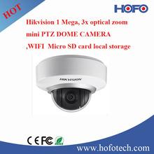 Hikvision economic 1 Megapixel IP Mini PTZ Dome ,wifi camera