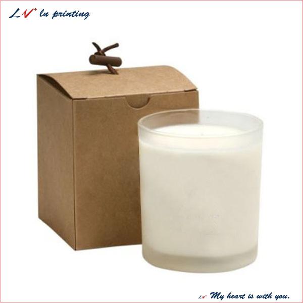 Cardboard Candle Candle Box/ Cardboard