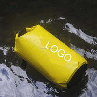 China manufacture promotional custom logo waterproof nylon fashion waterproof dry bag ocean pack super floating dry bag