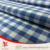 Excellect quality long sleeve plaid shirt fabric