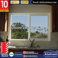 High quality aluminum sliding window with European standard