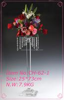wholesale crystal candelabra crystal glass candle holder wedding flower stands