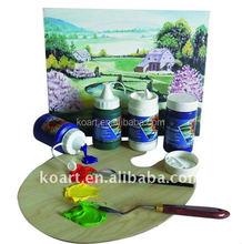 255ml acrylic colours