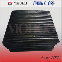 advanced crusher spares parts jaw plate for rock crushing