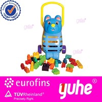 Colorful good quality bear building block car