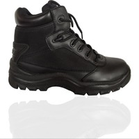 Bury eyelet high ankle safety shoes from direct factory