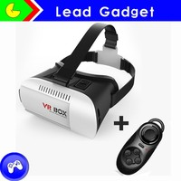 "2015 Virtual Reality Glasses VR Box 3D glasses headset for google cardboard glasses for 4.7-6.0"" mobile for iPhone"