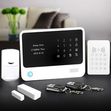 2015 new model !!! GSM+WIFI security product Home security affordable home security systems