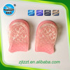3 layers Adjustable Silicone Gel Height Increase Taller Shoe Insoles ,TPR material comfort shoe half pad