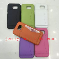 Newest Design Genuine Leather Cell Phone Card Solt Case For Samsung Galaxy S6 Cover With Stand Function