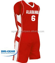 Basketball Red Men's Team Apparels